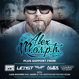 Rise Events presents Alex M.O.R.P.H. and Friends at Global Transmissions - Concert Edition at Tentorium, Duisburg, Germany on 12th of March 2015