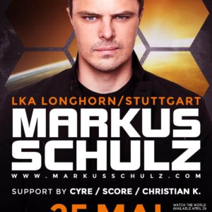 Trance.Mission and Musical Madness presents Markus Schulz at LKA Longhorn, Stuttgart, Germany on 25th of May 2016