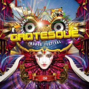PT Events presents Grotesque Indoor Festival #250 at Maassilo, Rotterdam, The Netherlands on 10th of December 2016