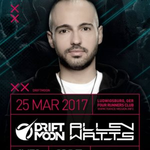 Trance.Mission presents Driftmoon and Allen Watts at Four Runners Club, Ludwigsburg, Germany on 25th of March 2017