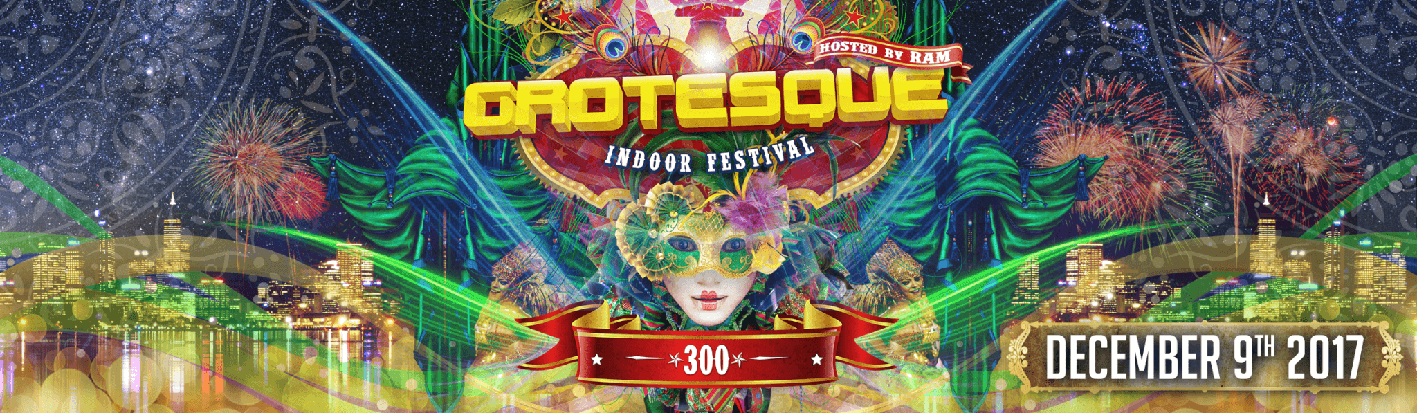 PT Events presents Grotesque Indoor Festival 300 banner