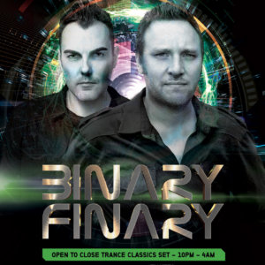 Diffraction Agency presents Binary Finary at Civic Underground, Sydney, Australia on 29th of September 2017