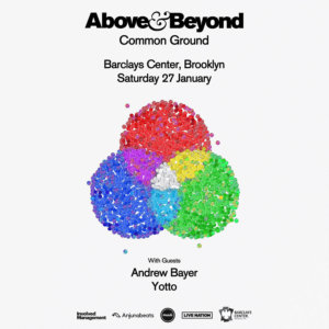 Above & Beyond presents Common Ground Tour in NYC