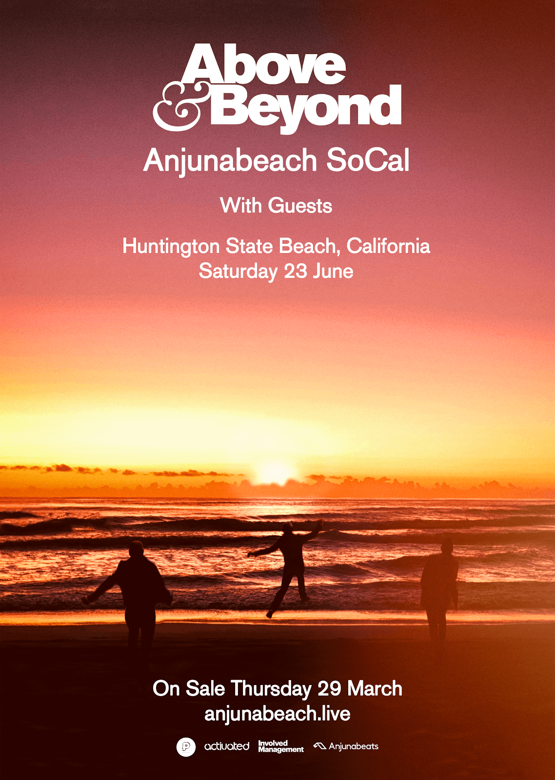 Above & Beyond presents Anjunabeach SoCal Festival @ Huntington State Beach, California, US on 23rd of June 2018